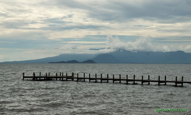 The view out from the Kep coast