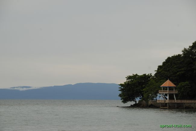 Tower on the Kep coastal road